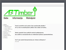 Tablet Preview of abtimber.lv